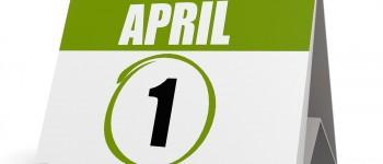 April First Calendar